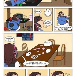 Overweight Watch Porn Comic 010