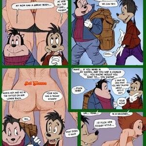 Peggy Cums Camping Porn Comic 005