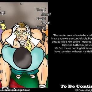 Power Max 3 Cartoon Porn Comic