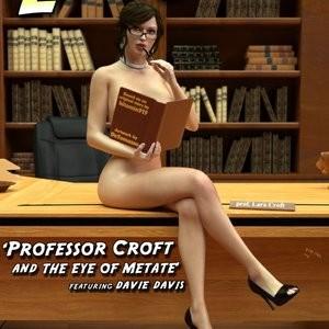 Porn Comics - Professor Croft And The Eye Of Metate Cartoon Comic