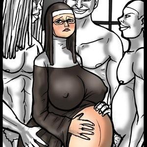 Porn Comics - Sister O'Malley 5 Cartoon Comic