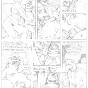 Simpsons - A Day In The Life Of Nelson Muntz Porn Comic 009