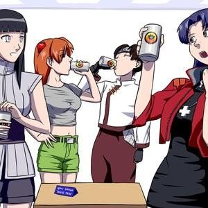 Soft Drink Test Porn Comic 001
