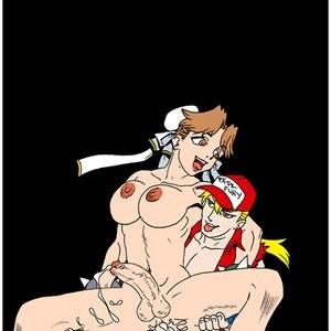 Porn Comics - SNK VS Capcom Cartoon Porn Comic