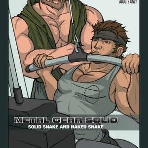 Solid Snake And Naked Snake Porn Comic 001