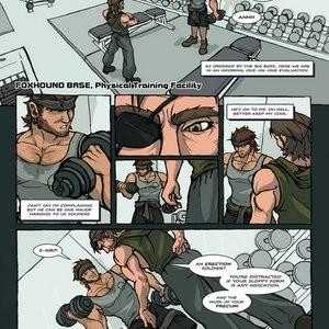 Solid Snake And Naked Snake Porn Comic 002