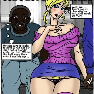 Porn Comics - Son's Hot Litlle Blonde Cartoon Porn Comic