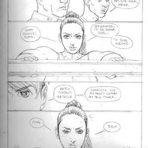 Submission Agenda 11 - Black Widow & She-Hulk Porn Comic 018