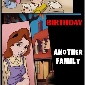 Porn Comics - Another Family 2 – Birthday Cartoon Comic