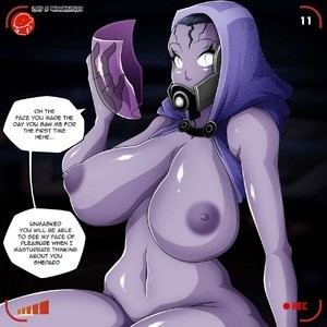Tali vs Miranda Porn Comic 012