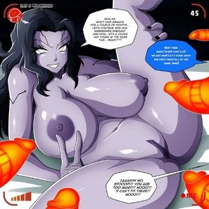 Tali vs Miranda Porn Comic 046