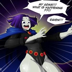 Teen Titans 1 - The Magic Crystal Porn Comic 013