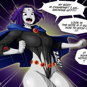 Teen Titans 1 - The Magic Crystal Porn Comic 014