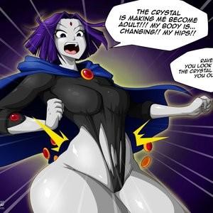 Teen Titans 1 - The Magic Crystal Porn Comic 015