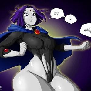 Teen Titans 1 - The Magic Crystal Porn Comic 016