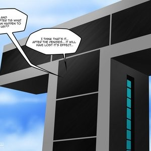 Teen Titans 1 - The Magic Crystal Porn Comic 062