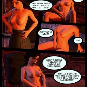 Teaching Elizabeth Porn Comic 004