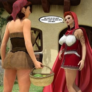 The Amazing Sex Adventures Of Busty Red Riding Hood Porn Comic 003