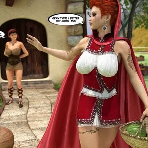 The Amazing Sex Adventures Of Busty Red Riding Hood Porn Comic 005