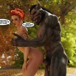 The Amazing Sex Adventures Of Busty Red Riding Hood Porn Comic 086