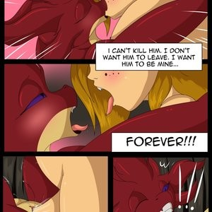The Dragon's Knight - Trial By Sword Porn Comic 014