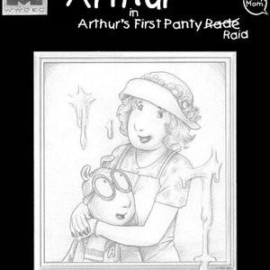 Porn Comics - Arthur's First Panty Raid PornComix