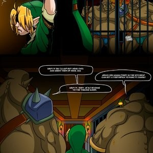The Legend Of Zelda - The Ocarina Of Joy 3 Porn Comic 003