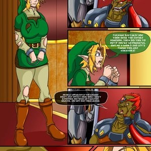 The Legend Of Zelda - The Ocarina Of Joy 3 Porn Comic 005
