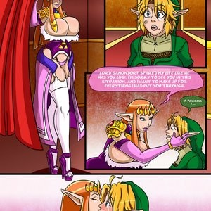 The Legend Of Zelda - The Ocarina Of Joy 3 Porn Comic 006