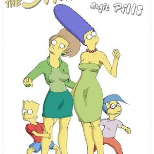 Porn Comics - The Simpsons – Magic Pills Porn Comic