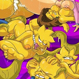 The Simpsons - Into the Multiverse 1 Porn Comic 027