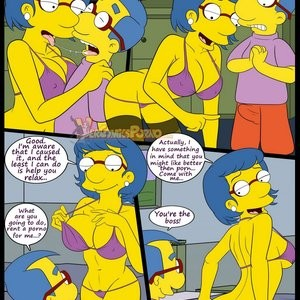 The Simpsons 6 - Learning With Mom Porn Comic 014