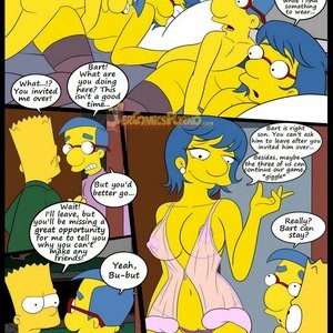 The Simpsons 6 - Learning With Mom Porn Comic 028