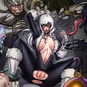 Porn Comics - The Sinister Sex Against The Black Cat PornComix