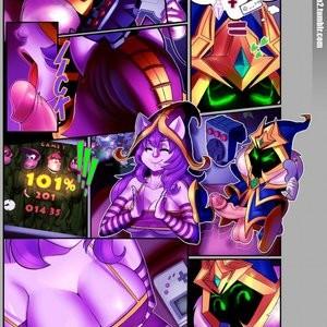 Video Game Love Porn Comic 002