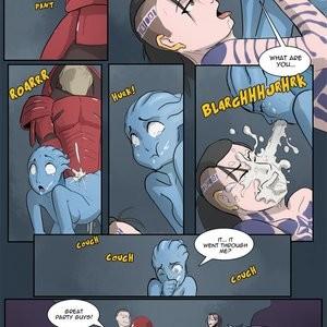 Wrex'd Porn Comic 011