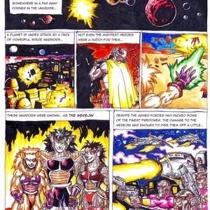 Bad Moon Rising Porn Comic 001