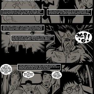 Japanese Magic 1 - No Surrender, Demons Be Dammed Porn Comic 002
