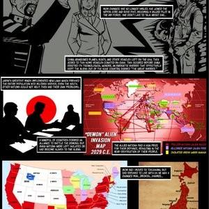 Japanese Magic 1 - No Surrender, Demons Be Dammed Porn Comic 004