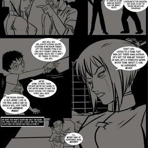 Japanese Magic 1 - No Surrender, Demons Be Dammed Porn Comic 006
