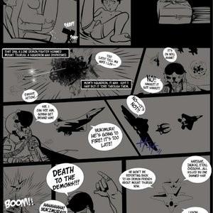 Japanese Magic 1 - No Surrender, Demons Be Dammed Porn Comic 012