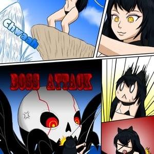 Blake And The Monster Porn Comic 003