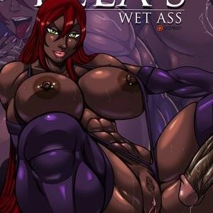 Ella's Wet Ass Porn Comic 001