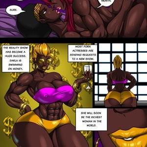 Ella's Wet Ass Porn Comic 042
