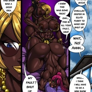 Ella's Wet Ass Porn Comic