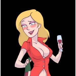 Porn Comics - Beth And Mr Meeseeks Cartoon Porn Comic